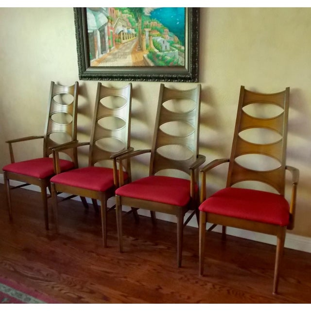 Kent coffey cat eye dining chairs set of chairish