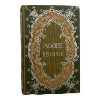 Paradise Regained by John Milton, Circa 1890, Fine Binding