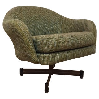 Mid-Century Swivel Lounge Chair