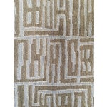 Image of Contemporary Wool & Silk Runner - 3′ × 13′2″
