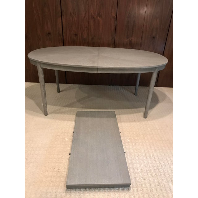 Dining Room Tables With Extension Leaves: Gray Dining Room Table With Extension Leaf