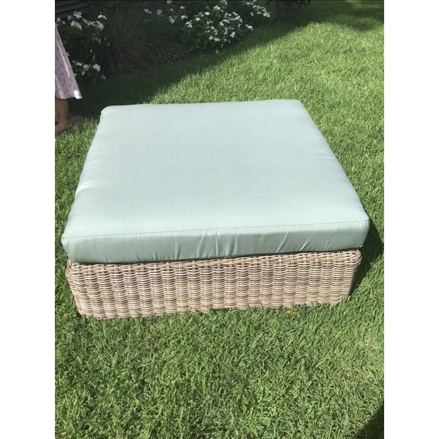 Kingsley Bate Outdoor Ottoman - Image 5 of 8