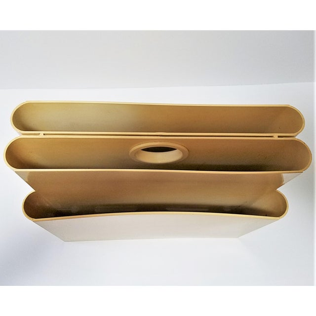 Vintage Ivory Giotto Stoppino Magazine Rack for Kartell - Image 5 of 10
