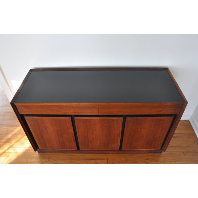 "Image of Milo Baughman for Dillingham ""Esprit"" Bar Cabinet"