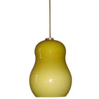 1 Hand Blown Resolute Pendant Ceiling Lamp