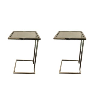 Mitchell Gold Vienna Pull-Up Tables -- A Pair