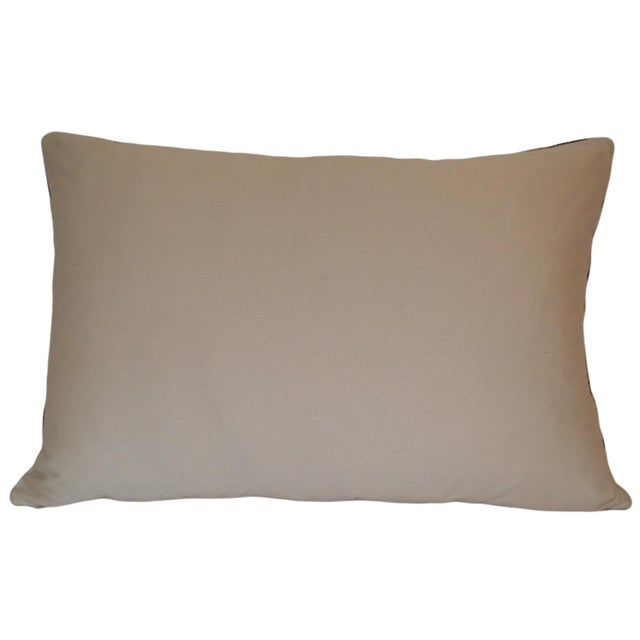Silk Velvet Ikat Pillow - Image 2 of 2