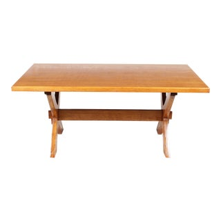 French Trestle Monastery-Style Dining Table