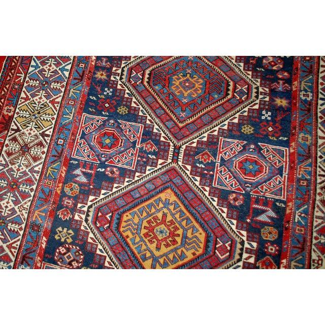 Antique Caucasian Shirvan Rug- 4′9″ × 7′10″ - Image 9 of 10