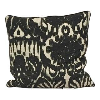 Abstract Ikat Pillow