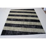 Image of Turkish Zig Zag Anatolian Patchwork Rug - 8′7″ × 10′3″