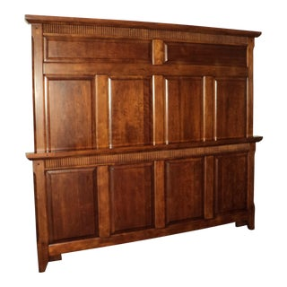 Cherry Queen Panel Bed