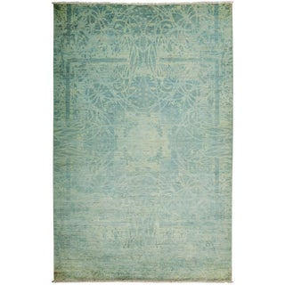 """Vibrance Hand Knotted Area Rug - 6'1"""" X 9'4"""""""