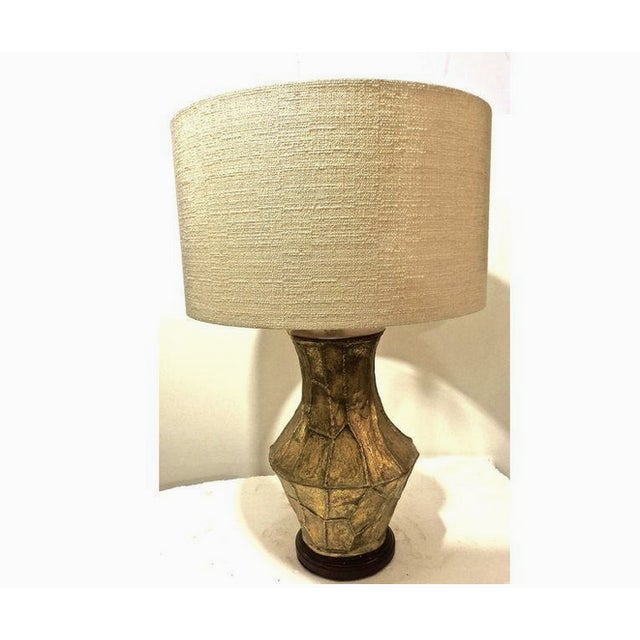 Image of Frederick Cooper Mid-Century Style Gold Lamp