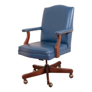 Blue Executive Desk Chair