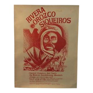 Rcaf Rivera Chicano Art Movement Poster