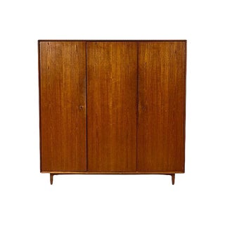 1950s Switzerland Teak Wood Armoire