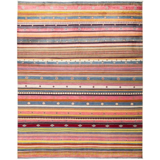 "Lori Hand Knotted Area Rug - 8'2"" X 10'0"""