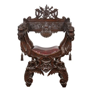 Savonarola Chair, Late 19th c.