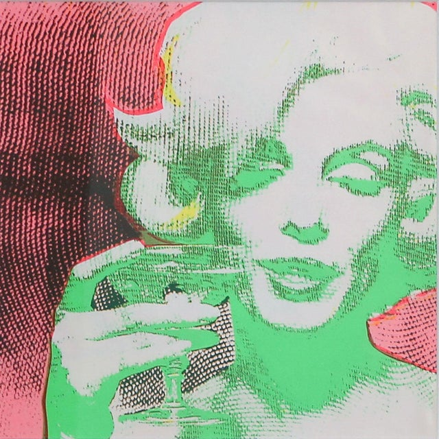 "Image of ""The Marilyn Monroe Trip - 2"" Original 1968 Serigraph by Burt Stern"