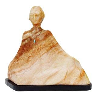 Vintage R. C. Gorman Marble Sculpture