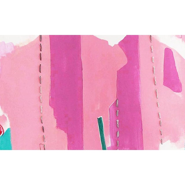 """""""Dreaming Pink"""" Original Acrylic Painting - Image 2 of 2"""