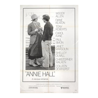 Annie Hall 1977 USA One Sheet Movie Poster