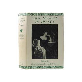Vintage 'Lady Morgan in France' Book