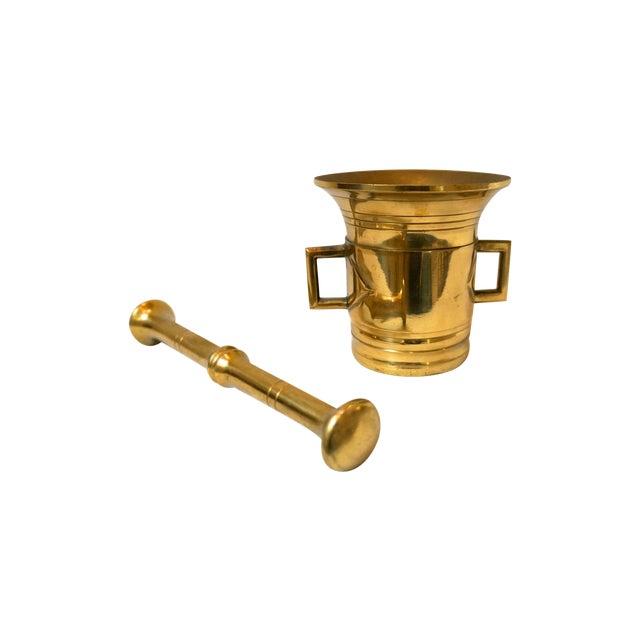 Brass Mortar & Pestle - Image 1 of 5