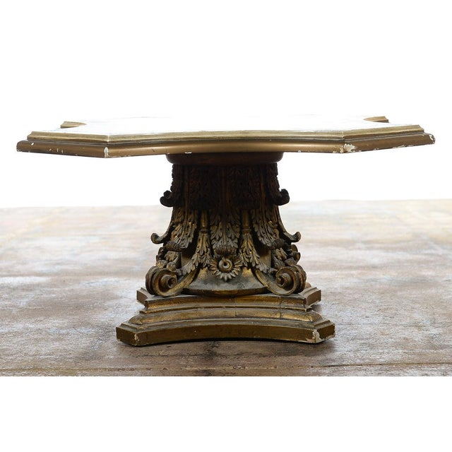 Venetian End Tables with Rococo Pedestals - A Pair - Image 6 of 11