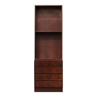 Omann Jun Vintage Danish Mid-Century Modern Rosewood Bookcase Model No. 60