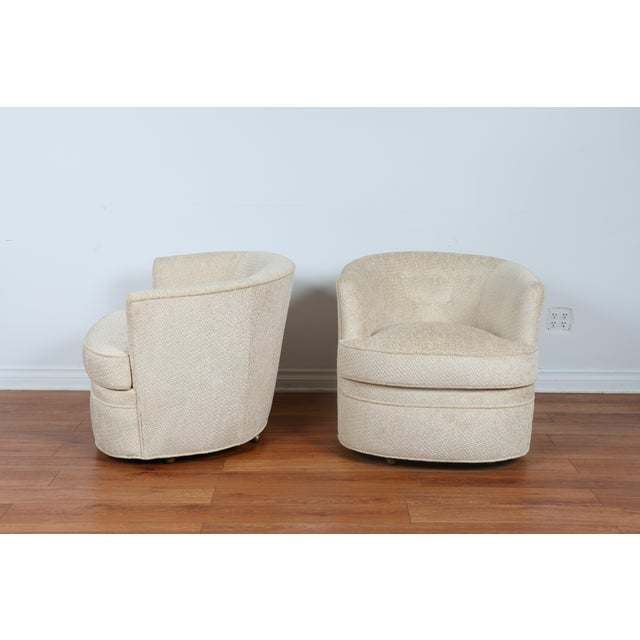 Swivel Vintage Beautiful Chairs - Pair - Image 3 of 10