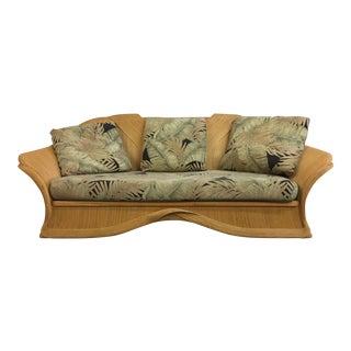Vintage Rattan Sofa