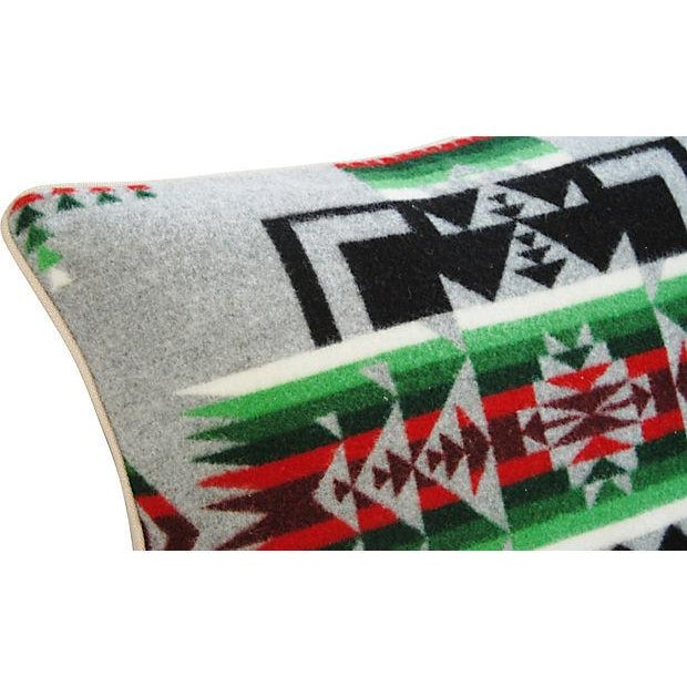 Custom Chief Joseph Pendleton Blanket Pillow - Image 4 of 6