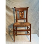 Image of Carved Dining Room Chairs - Set of 6
