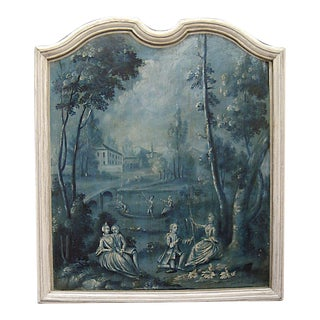Painted French Panel (#72-56)