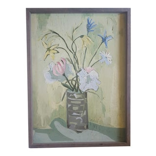 M. Marguez Still Life Painting, 1960's