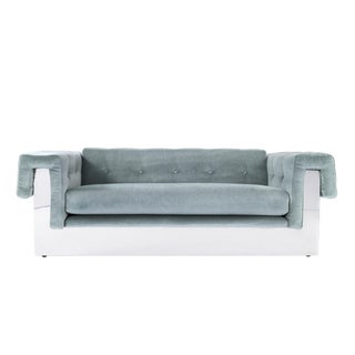 Milo Baughman Chesterfield Sofa