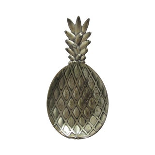 Silver-Plated Pineapple Catchall