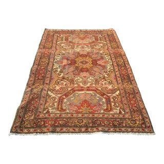 Antique Turkish Anatolian Rug - 4′3″ × 7′2″