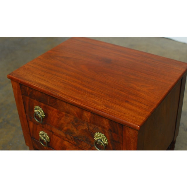 19th Century Federal Mahogany Work Table - Image 4 of 9