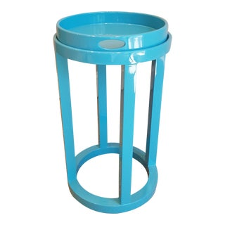 Marcella Turquoise Side Table