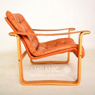 Finland Leather Armchair, OY BJ. Dahlqvist AB, Finland