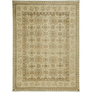 """Oushak Hand Knotted Area Rug - 6'5"""" x 8'8"""""""