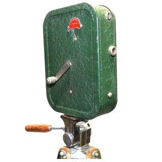 VitaScope Cinema Camera Hand-Crank on Vintage Tripod Circa 1931 As Sculpture