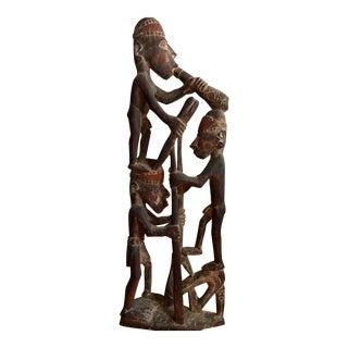 Tribal Art Wooden Sculpture from Papua New Guinea