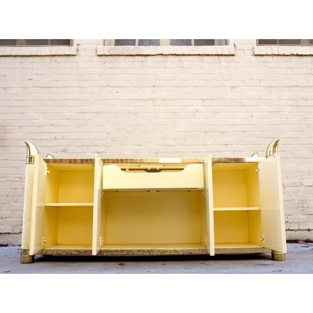 Hollywood Regency Cabinet & Buffet - Image 8 of 11