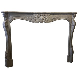 Hand Carved French Mantel