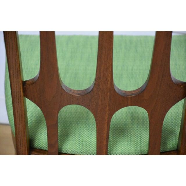 Broyhill Brasilia Walnut Dining Chairs - Set of 8 - Image 7 of 11