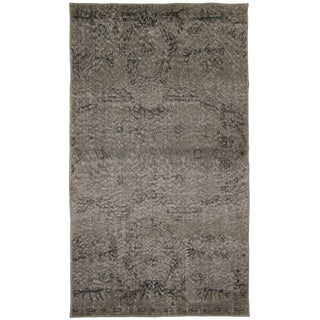 "Grey Overdyed Carpet - 3'1"" x 5'5"""